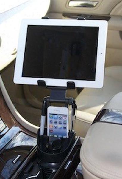 Bracketron Universal Tablet Cupholder Mount
