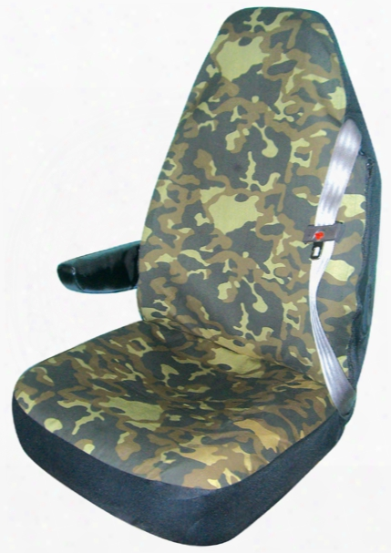Camouflage Truck Bucket Seat Cover Pair
