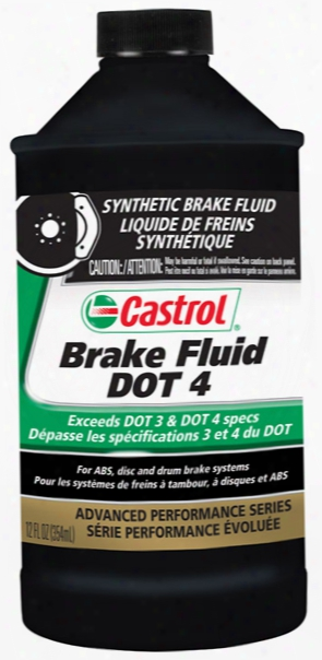Castrol Synthetic Dot 4 Brake Fluid 12oz.