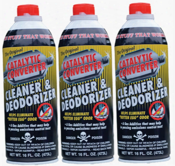 Catalytic Converter Cleaner 16 Oz. - 3 Pack