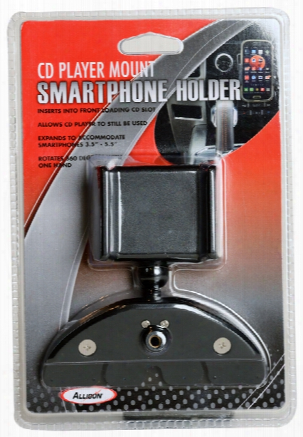 Cd Slot Mounted Smartphone Holder