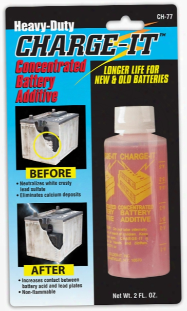 Charge-it Concentrated Battery Additive 2 Oz.