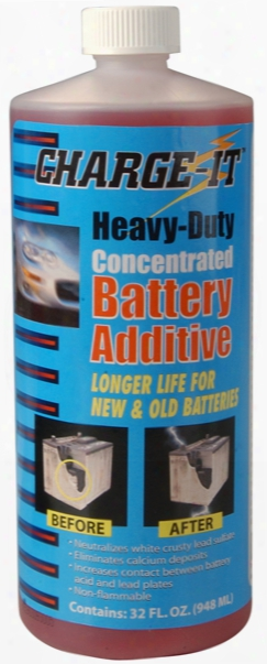 Charge-it Concentrated Battery Additive 32 Oz.