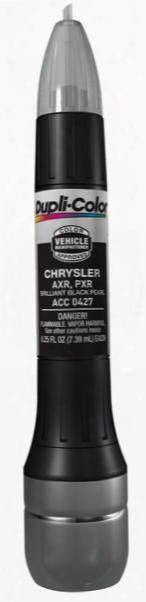 Chrysler & Mitsubishi Brilliant Black Crystal All-in-1 Scratch Fix Pen - Pxr Axr 2002-2016
