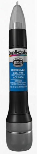 Chrysler Deep Water Blue All-in-1 Scratch Fix Pen - Pbs 2008-2011