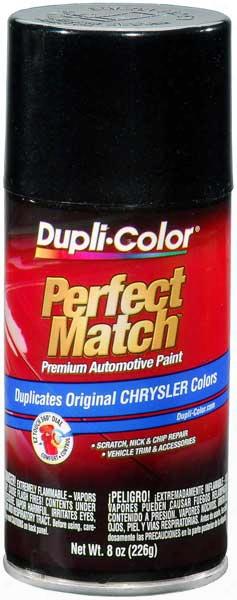 Chrysler - Dodge - Jeep Brillant Black Pearl & Crystal Auto Spray Paint - Axr Pxr 2002-2014