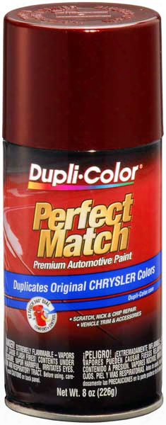 Chrysler - Dodge - Jeep Dark Garnet Red Pearl Auto Spray Paint - Prv/xrv 2003-2005