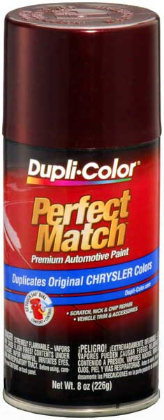 Chrysler - Dodge - Jeep Deep Cranberry Pearl Auto Spray Paint -pmt 1998-2003