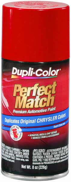 Chrysler - Dodge - Jeep Flash Red Auto Spray Paint - Pr3 R11 1985-2013