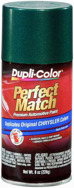 Chrysler - Dodge - Jeep Forest Green Pearl Auto Spray Paint - Pg8 1995-2002