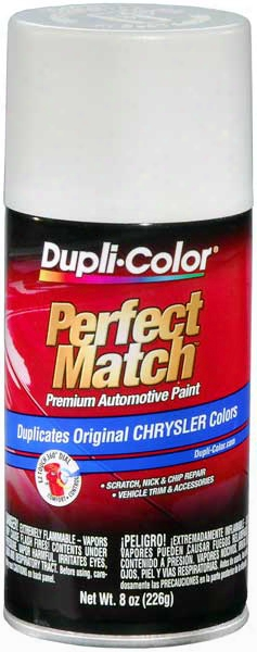 Chrysler - Dodge - Jeep - Mitsubishi Arctic White/bright White Auto Spray Paint-gw6 Gw7 Pw6 Pw7 2004-2014