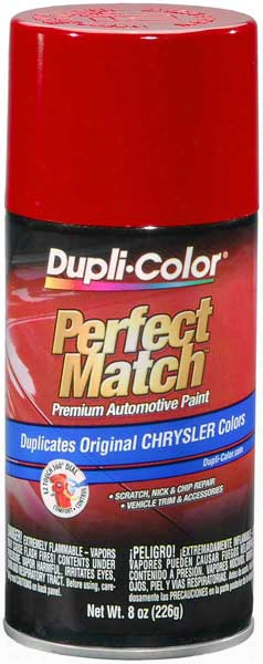 Chrysler - Dodge - Jeep Poppy Red-flame Red Auto Spray Paint - Pr4 1994-2014