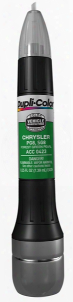 Chrysler Forest Green Pearl All-in-1 Scratch Fix Pen - Pg8 1996-2002