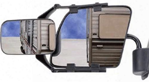Cipa Adjustable Universal Clip-on Towing Mirror