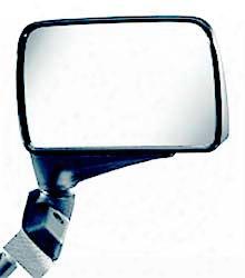 Cipa Black Universal Flag Style Side View Car Mirror