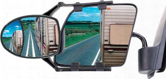 Cipa Dual-adjustable Universal Clip-on Towing Mirror