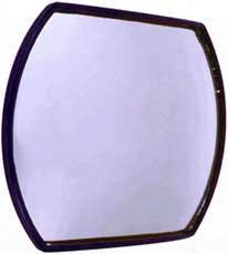 "Cipa Stick-on Hotspots 4"" X 5"" Convex Safety Mirror"