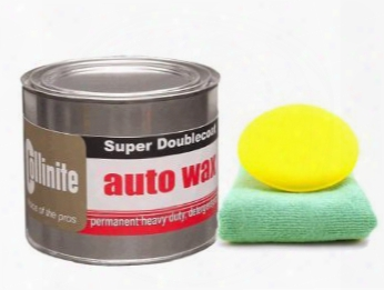 Collinite 476s Double-coat Paste Wax 18 Oz. Microfiber Cloth & Froth Pad Kit