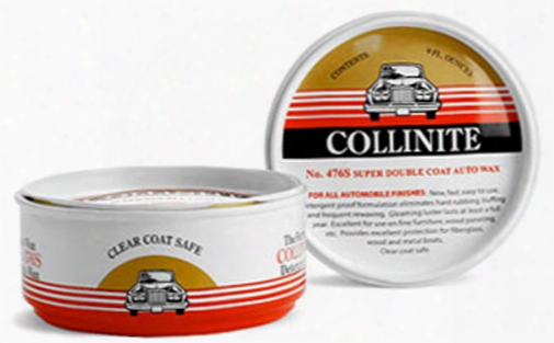 Collinite 476s Double-coat Paste Wax 9 Oz.