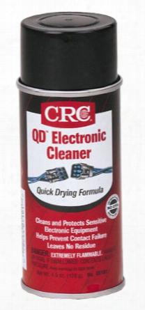 Crc Qd Electronic Cleaner 4.5 Oz