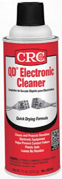 Crc Quick Dry Electronics Cleaner 11 Oz