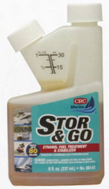 Crc Stor & Go Ethanol Fuel Treatment & Stabilizer 8 Oz