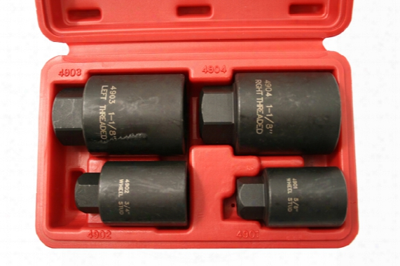 Cta 4 Pc. Inner Budd Nut & Wheel Stud Remover Set