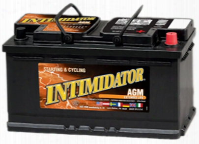 Deka 9agm49 Agm Intimidator Battery 850 Cca
