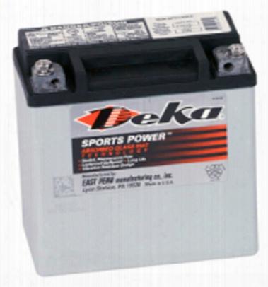 Deka Etx14l Agm Power Sport Battery 220 Cca