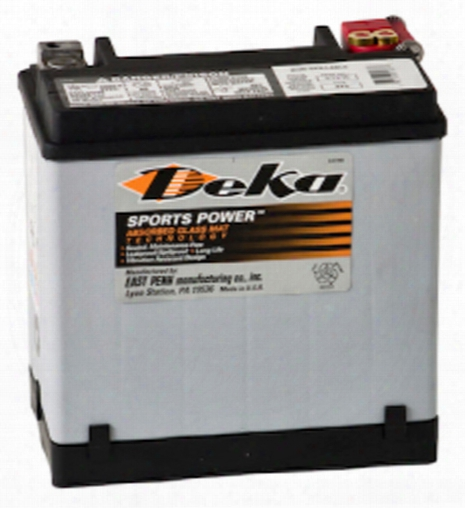 Deka Etx16 Agm Power Sport Battery 325 Cca