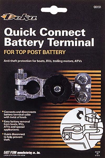 Deka Quick Connect Battery Terminal