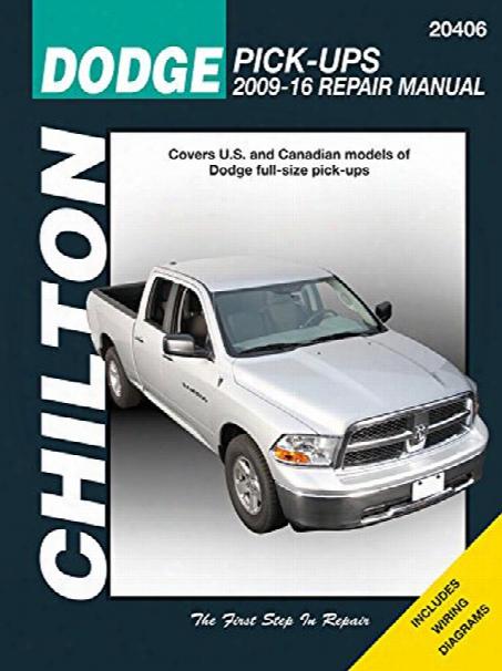 Dodge Ram Chilton Repair Manual 2009-2016