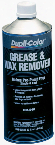 Dupli-color Grease & Wax Remover Quart