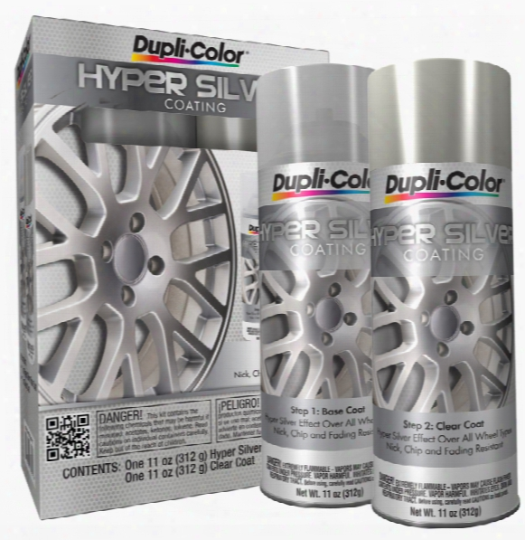Dupli-color Hyper Silver Coating Kit