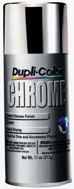 Dupli-color Instant Chrome Spray Enamel 11 Oz.