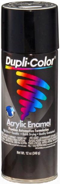 Duplicolor Gloss Black Osha Black Acrylic Enamel 12 Oz