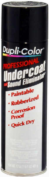 Duplicolor Professional Undercoating & Sound Eliminator Spray 17 Oz