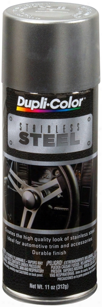 Duplicolor Stainless Steel Metallic Coating Spray 11 Oz