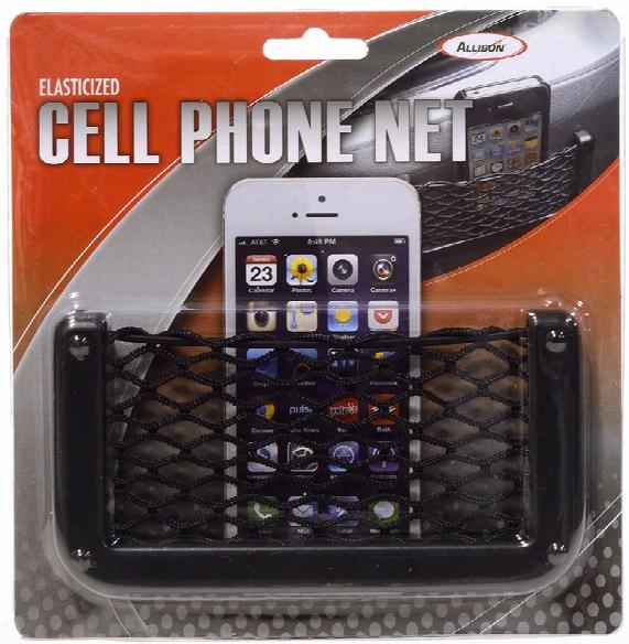 Elasticized Cell Phone Net Holder