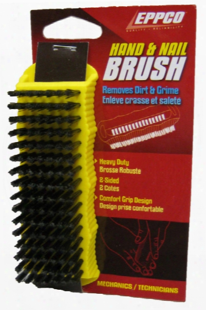 Eppco Heavy Duty Two Sided Hand & Nail Brush