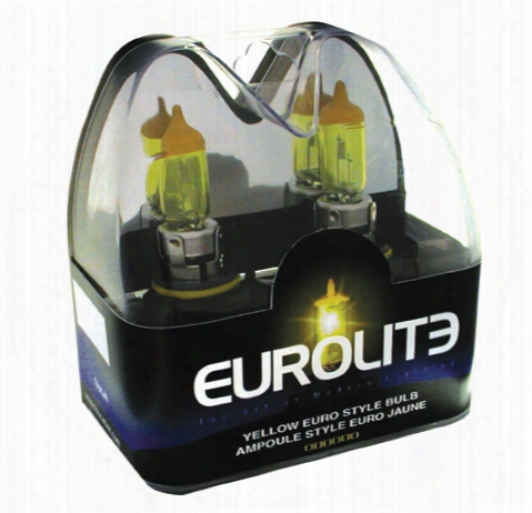 Eurolite Yellow Euro Style 893 Xenon Headlight Bulbs Pair