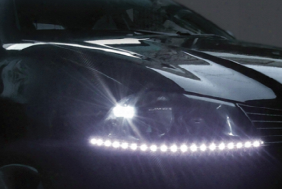 Evo Ultra White Led Sidewinder Eye-brows Pair