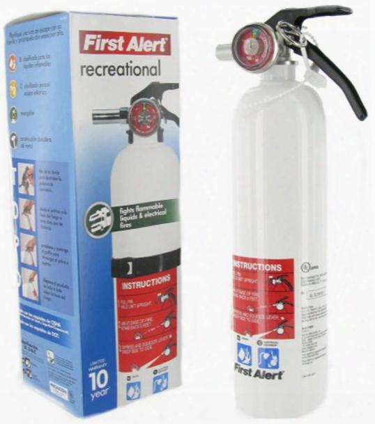 First Alert Recreational Fire Extinguisher