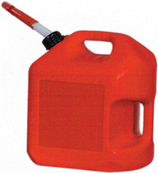 Five Gallon Carb Plastic Gas Can