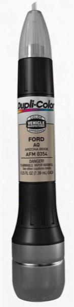 Ford & Mazda Arizona Beige All-in-1 Scratch Fix Pen - Aq 2000-2014