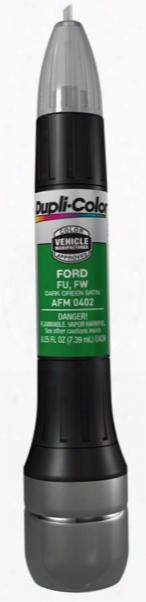 Ford & Mazda Dark Green Satin All-in-1 Scratch Fix Pen - Fu Fw 1998-2007