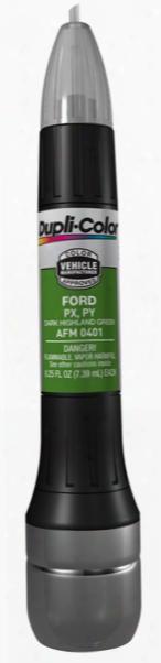 Ford & Mazda Dark Highland Green All-in_1 Scratch Fix Pen - Px Py 2001-2009
