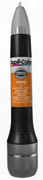 Ford Competition Orange All-in-1 Scratch Fix Pen - Cy 2004-2015