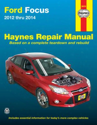Ford Focus Haynes Repair Manual 2012-2014