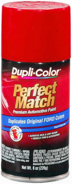 Ford Lincoln & Mercury Cardinal Red Auto Spray Paint - Eea 21 E4 Ep Sq 1989-2014